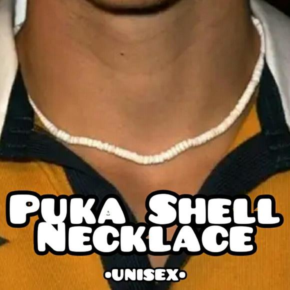 Other - Vintage Unisex Puka Shell Necklace